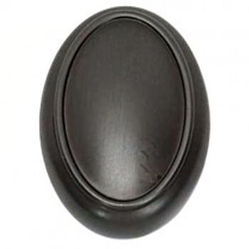"Alno, Classic Traditional, 1 1/2"" Oval Knob, Bronze"