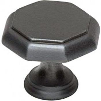 "Alno, Contemporary Knobs, 1 3/8"" Round knob, Bronze"
