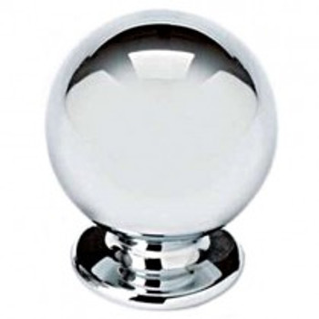 "Alno, Knobs, 5/8"" Round ball knob, Polished Nickel"