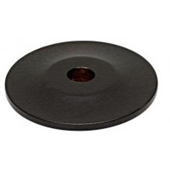 "Alno, Knobs, 1"" Round knob backplate, Bronze"