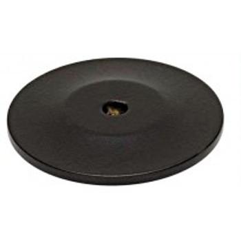 "Alno, Knobs, 1 3/4"" Round Knob Backplate, Bronze"
