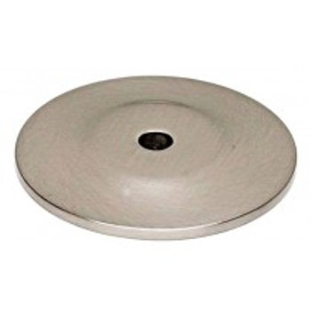 "Alno, Knobs, 1 3/4"" Round knob backplate, Satin Nickel"