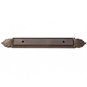 "Alno, Fiore, 3"" Center Pull Backplate, Chocolate Bronze"