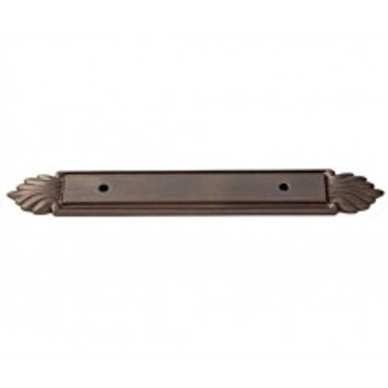 "Alno, Fiore, 3 1/2"" Center Pull Backplate, Chocolate Bronze"