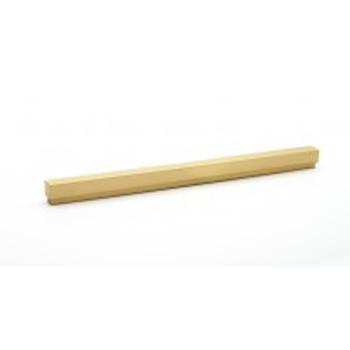 "Alno, Simplicity, 12"" (305mm) Straight Pull, Satin Brass"