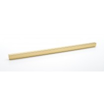 """Alno, Simplicity, 18"""" Straight Pull, Polished Brass"""