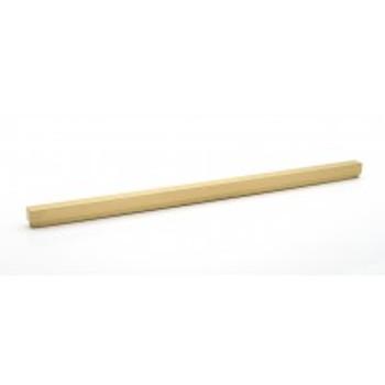 "Alno, Simplicity, 18"" Straight Pull, Satin Brass"