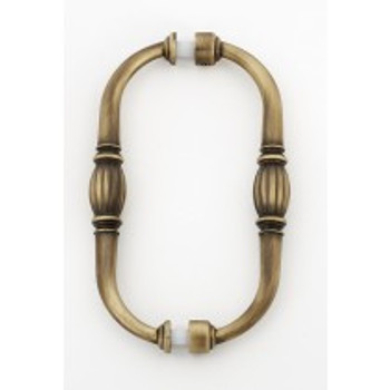 "Alno, Tuscany, 6"" Back-to-Back pull, Antique English Matte"