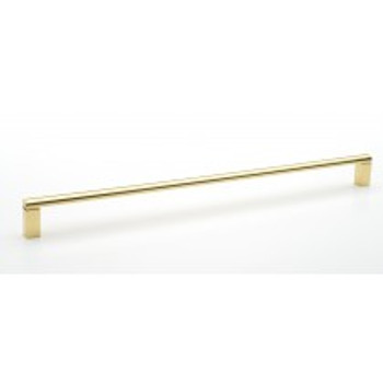 """Alno, Vogue, 18"""" Appliance pull, Polished Brass"""