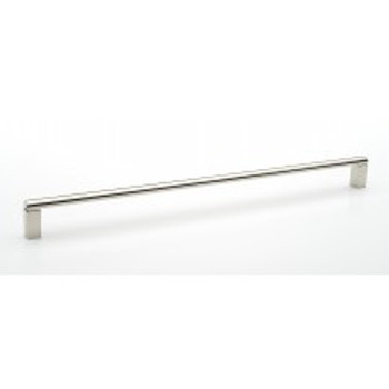"""Alno, Vogue, 18"""" Appliance Pull, Polished Nickel"""