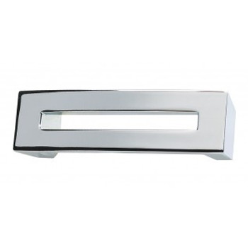 """Atlas Homewares, Centinel, 3"""" Straight Square End Pull, Polished Chrome"""