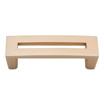 """Atlas Homewares, Centinel, 3"""" Straight Square end pull, Champagne"""