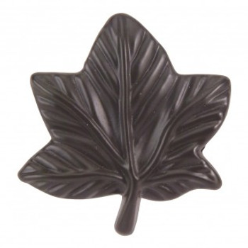 "Atlas Homewares, Nature, 2"" Leaf knob, Aged Bronze"