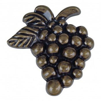 "Atlas Homewares, Nature, 2"" Grapes Knob, Burnished Bronze"
