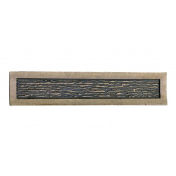 "Atlas Homewares, Primitive, 3"" Bar pull, Burnished Bronze"