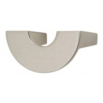 "Atlas Homewares, Roundabout, 1 1/4"" Curved pull, Brushed Nickel"