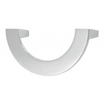 "Atlas Homewares, Roundabout, 3"" Curved pull, Polished Chrome"