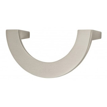 "Atlas Homewares, Roundabout, 3"" Curved Pull, Brushed Nickel"