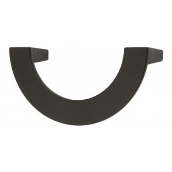 "Atlas Homewares, Roundabout, 3"" Curved Pull, Matte Black"