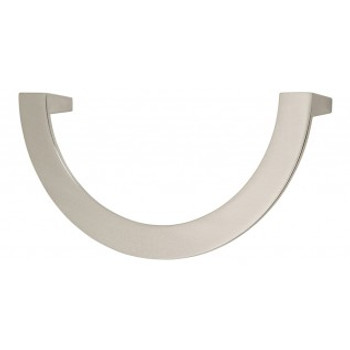 "Atlas Homewares, Roundabout, 5 1/16"" (128mm) Curved pull, Brushed Nickel"