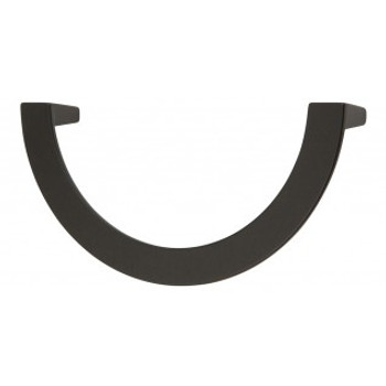 "Atlas Homewares, Roundabout, 5 1/16"" (128mm) Curved Pull, Matte Black"