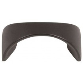 "Atlas Homewares, Sleek, 1 1/4"" Curved Pull, Modern Bronze"