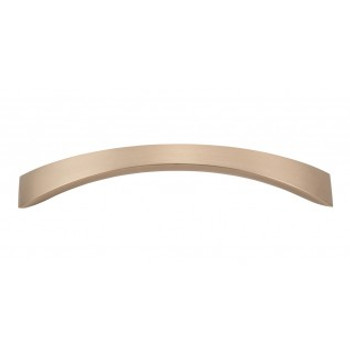 "Atlas Homewares, Sleek, 5 1/16"" (128mm) Curved Pull, Champagne"