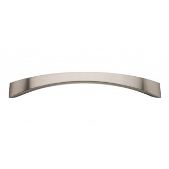 "Atlas Homewares, Sleek, 6 5/16"" (160mm) Curved Pull, Brushed Nickel"
