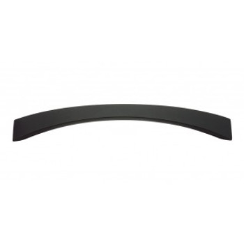 "Atlas Homewares, Sleek, 6 5/16"" (160mm) Curved Pull, Matte Black"