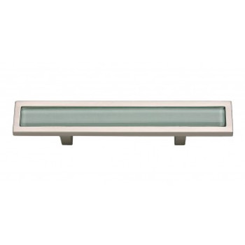 "Atlas Homewares, Spa, 3"" Bar pull, Green with Brushed Nickel"