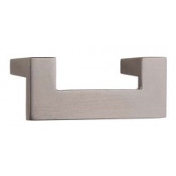 "Atlas Homewares, U Turn, 2 1/2"" (64mm) Straight pull, Slate"