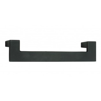 "Atlas Homewares, U Turn, 5 1/16"" (128mm) Straight pull, Matte Black"