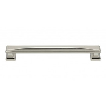 "Atlas Homewares, Wadsworth, 7 9/16"" (192mm) Straight pull, Polished Nickel"