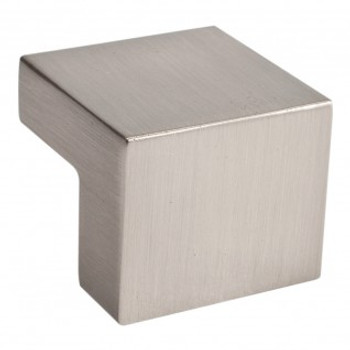 "Atlas Homewares, Successi, 5/8"" Square knob, Brushed Nickel"