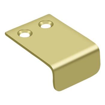 "Deltana, 1"" x 1 1/2"" Finger pull, Polished Brass"