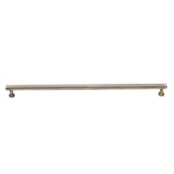 """Baldwin, Couture B, 18"""" Appliance Pull, Satin Brass with Black"""