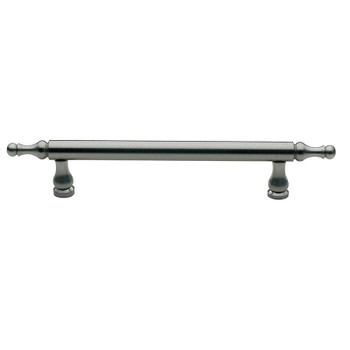"Baldwin, Spindle, 3 3/4"" (96mm) Bar Pull, Satin Nickel"