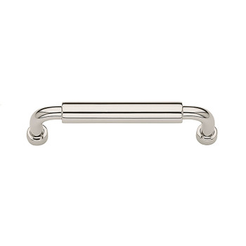 "Baldwin, Hollywood Hills, 3 3/4"" (96mm) Straight Pull, Polished Nickel"