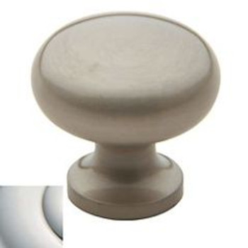"Baldwin, Classic Knobs, 1 1/2"" Round knob, Polished Nickel"