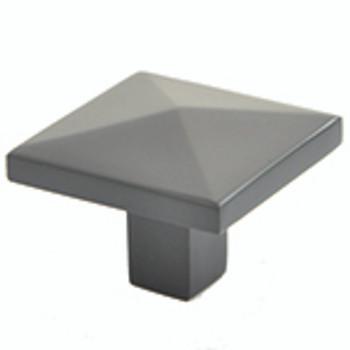"""Rusticware, 1 1/4"""" Diamond top Square knob, Oil Rubbed Bronze"""