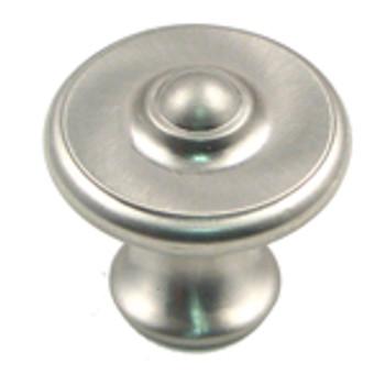 "Rusticware, 1 1/2"" Round knob, Satin Nickel"