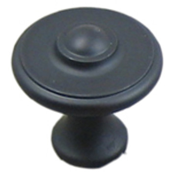 "Rusticware, 1 1/2"" Round Knob, Oil Rubbed Bronze"