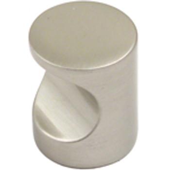 """Rusticware, 1"""" Modern Round Whistle Knob, Satin Nickel"""