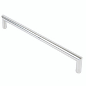 "Rusticware, 11"" Modern Square End pull, Chrome"