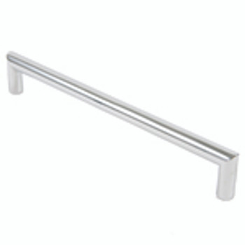 "Rusticware, 13"" Modern Square End pull, Chrome"