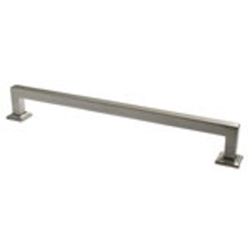 "Rusticware, 9"" Square End pull, Satin Nickel"