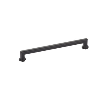 "Schaub and Company, Empire, 8"" Straight pull, Matte Black"