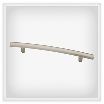 "Liberty Hardware, Arched, 5 1/16"" (128mm) Bar Pull, Satin Nickel"