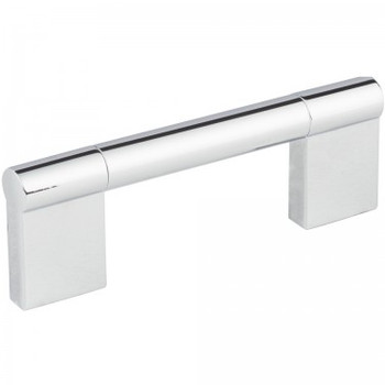 """Elements, Knox, 3 3/4"""" (96mm) Straight pull, Polished Chrome"""