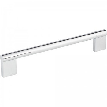 """Elements, Knox, 7 9/16"""" (192mm) Straight Pull, Polished Chrome"""